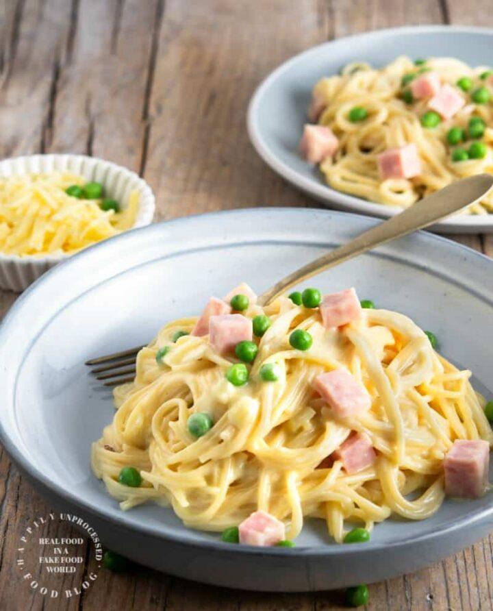 Ham tetrazzini 1.jpg 720x892 - Ham Tetrazzini (no canned soups)