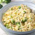 creamy cheddar broccoli orzo 1 150x150 - One Skillet Creamy Spinach and Parmesan Orzo