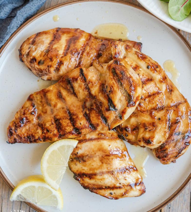 Best Grilled Chicken marinade close.jpg - Best Grilled Chicken Marinade