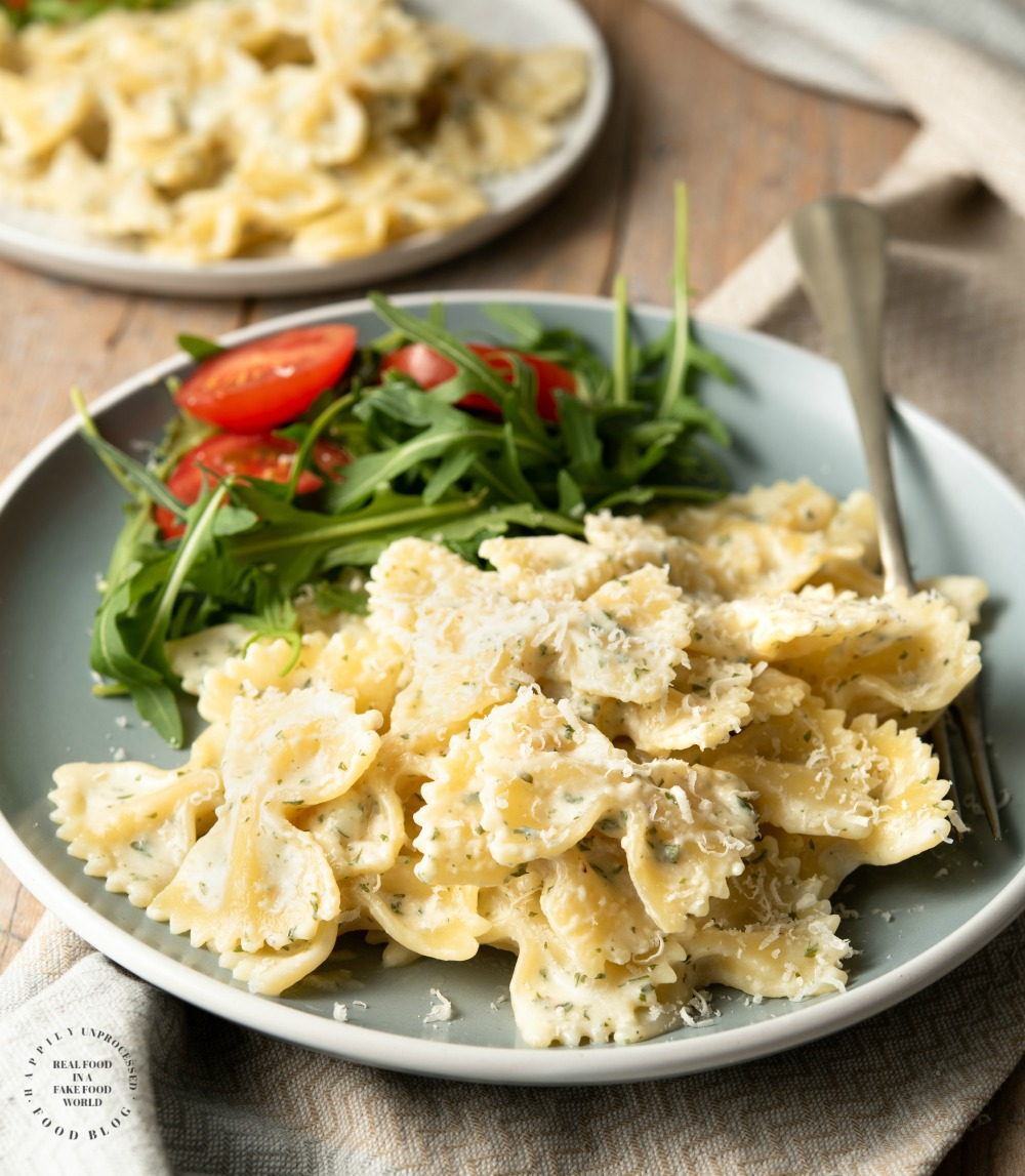 Garlic and Herb Bow Tie Pasta 1.jpg - Garlic & Herb Bowtie Pasta