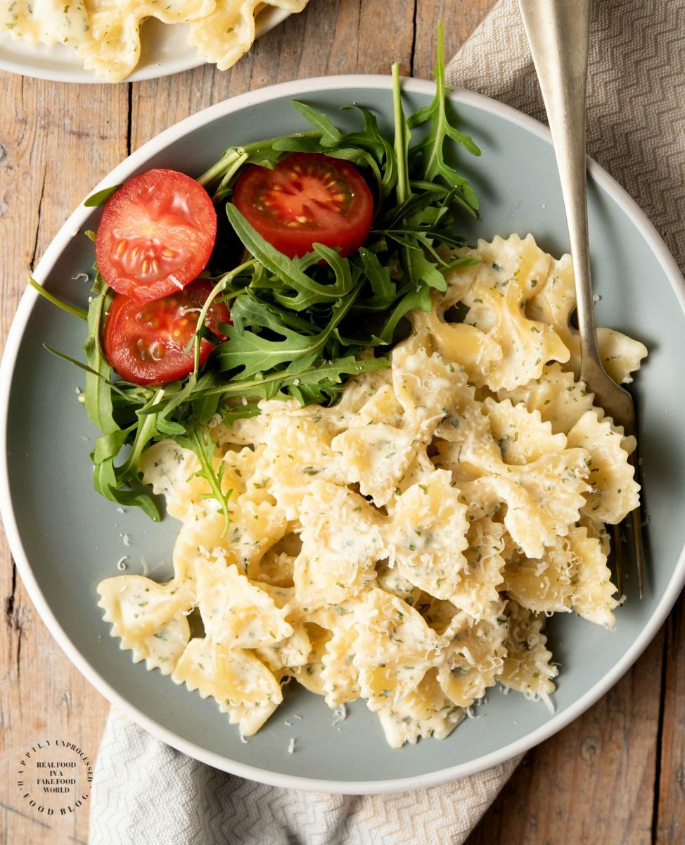 Garlic and Herb Bow Tie Pasta.jpg - Garlic & Herb Bowtie Pasta