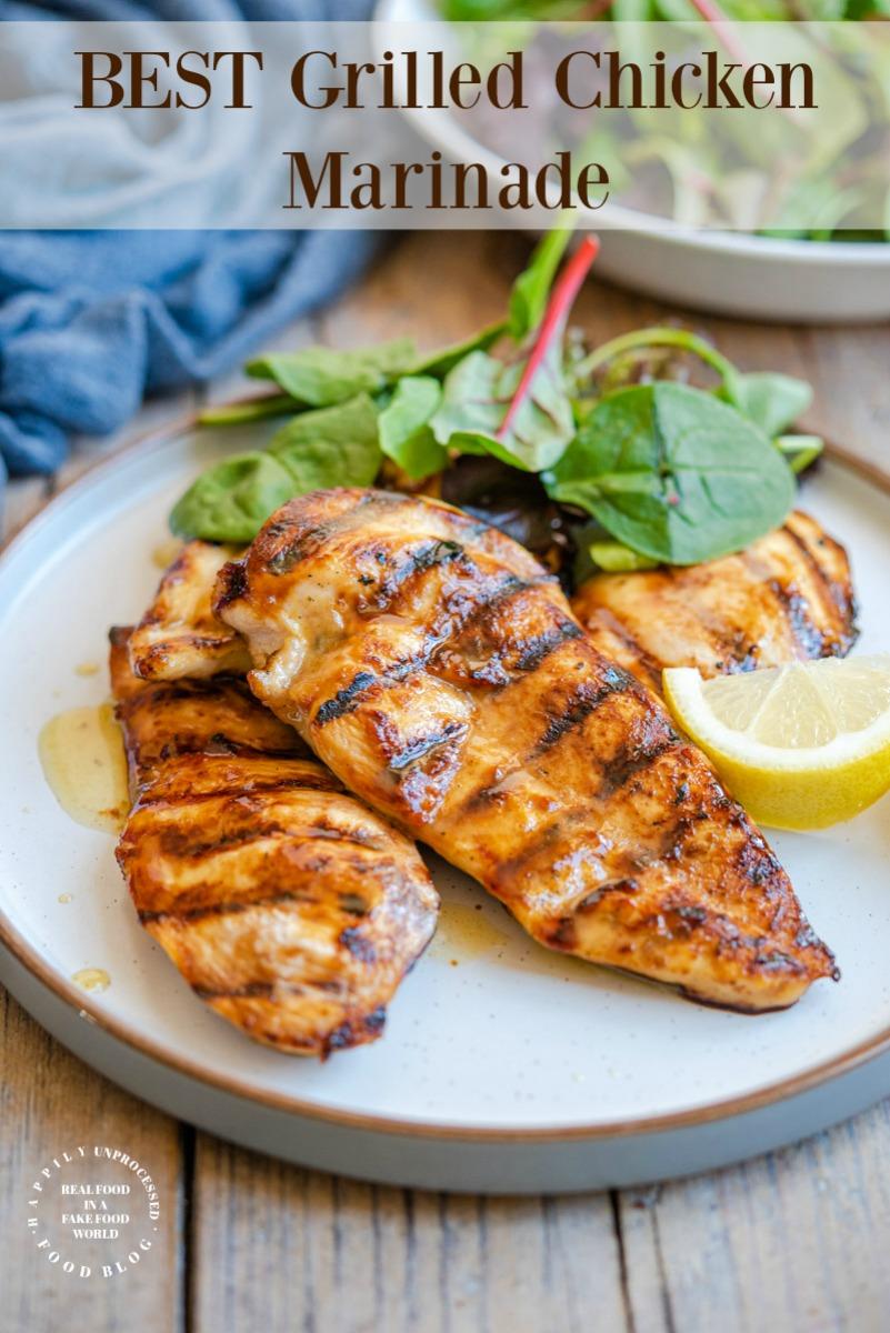 best grilled chicken marinade pin.jpg - Best Grilled Chicken Marinade
