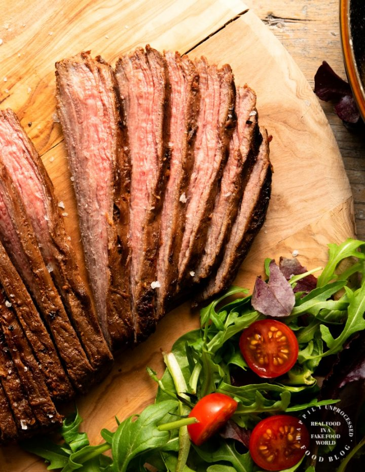 flank steak 3 720x930 - Weeknight Marinated Flank Steak