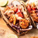 spicy shrimp tacos 150x150 - Happily Unprocessed