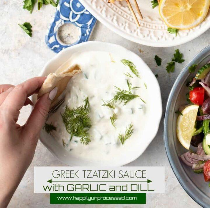 tzatziki sauce pin 720x714 - How to Make the World's Best Homemade Tzatziki Sauce