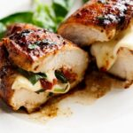 CAPRESE CHICKEN 150x150 - Caprese Steak Salad in a Reduced Balsamic Vinaigrette