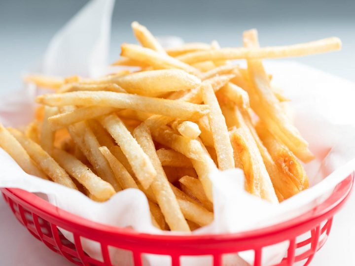 Basket of French Fries 720x540 - 5 PROCESSED FOODS TO AVOID - NOW!