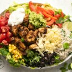 Mexican Chipotle Chicken Burrito Bowl