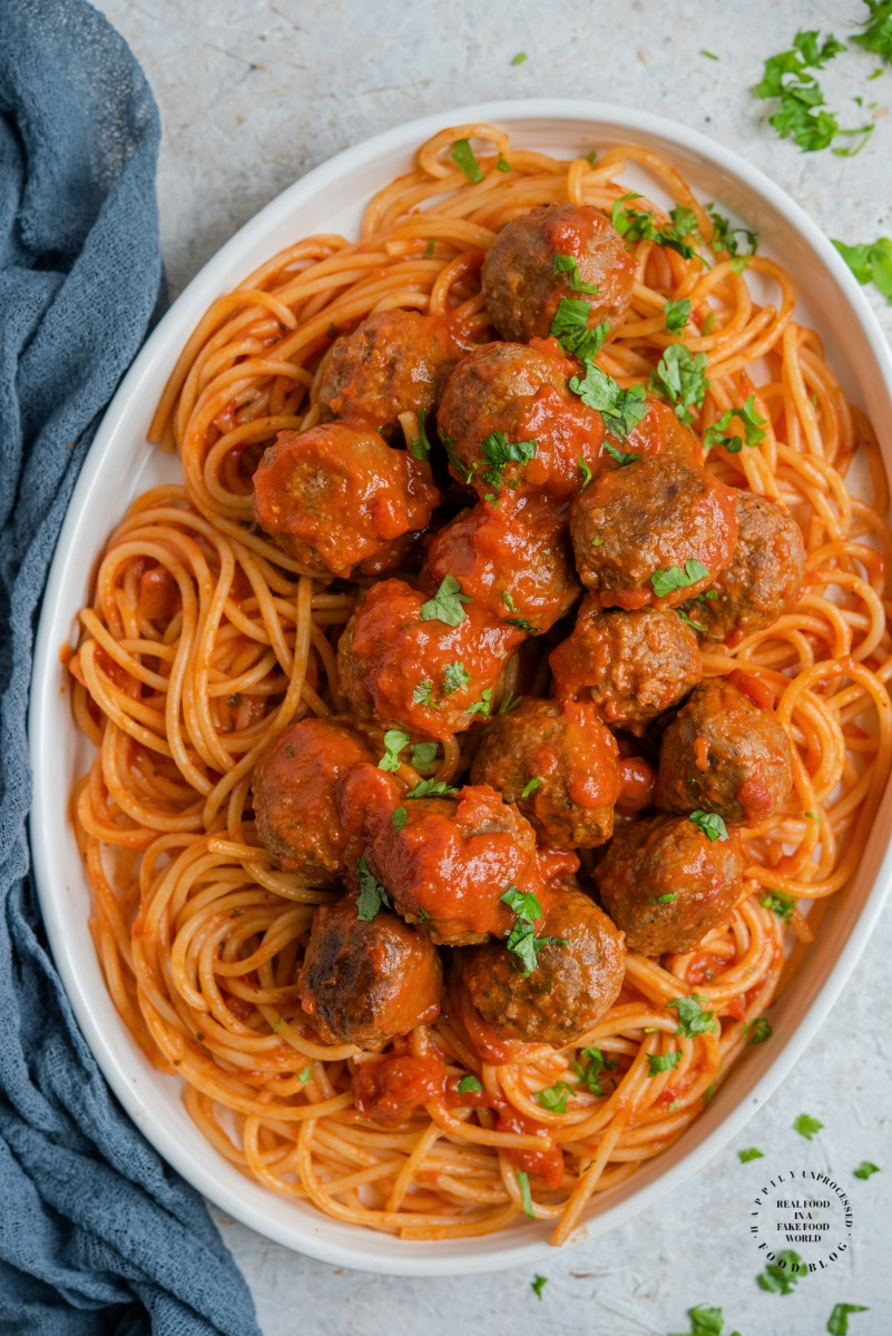 Baked Meatballs 2.jpg - The Best Baked Meatball Recipe