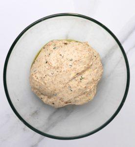 ROSEMARY SKILLET BREAD DOUGH.jpg 276x300 - No Knead Rosemary Skillet Bread (with video)