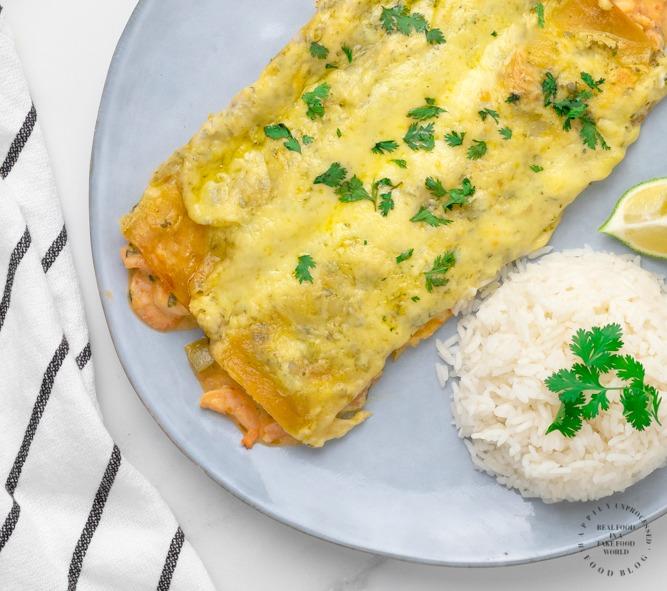 creamy shrimp enchiladas - Creamy Shrimp Enchiladas
