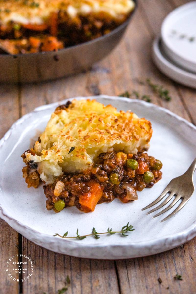 VEGETARIAN SHEPHERDLESS PIE1.jpg - Vegetarian Shepherdsless Pie