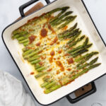 Baked Cod 150x150 - Roasted Tomatoes and Asparagus with Parmesan Cheese and Almonds