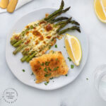baked Cod overhead 150x150 - Easy Baked Cod with Parmesan Breadcrumb Topping