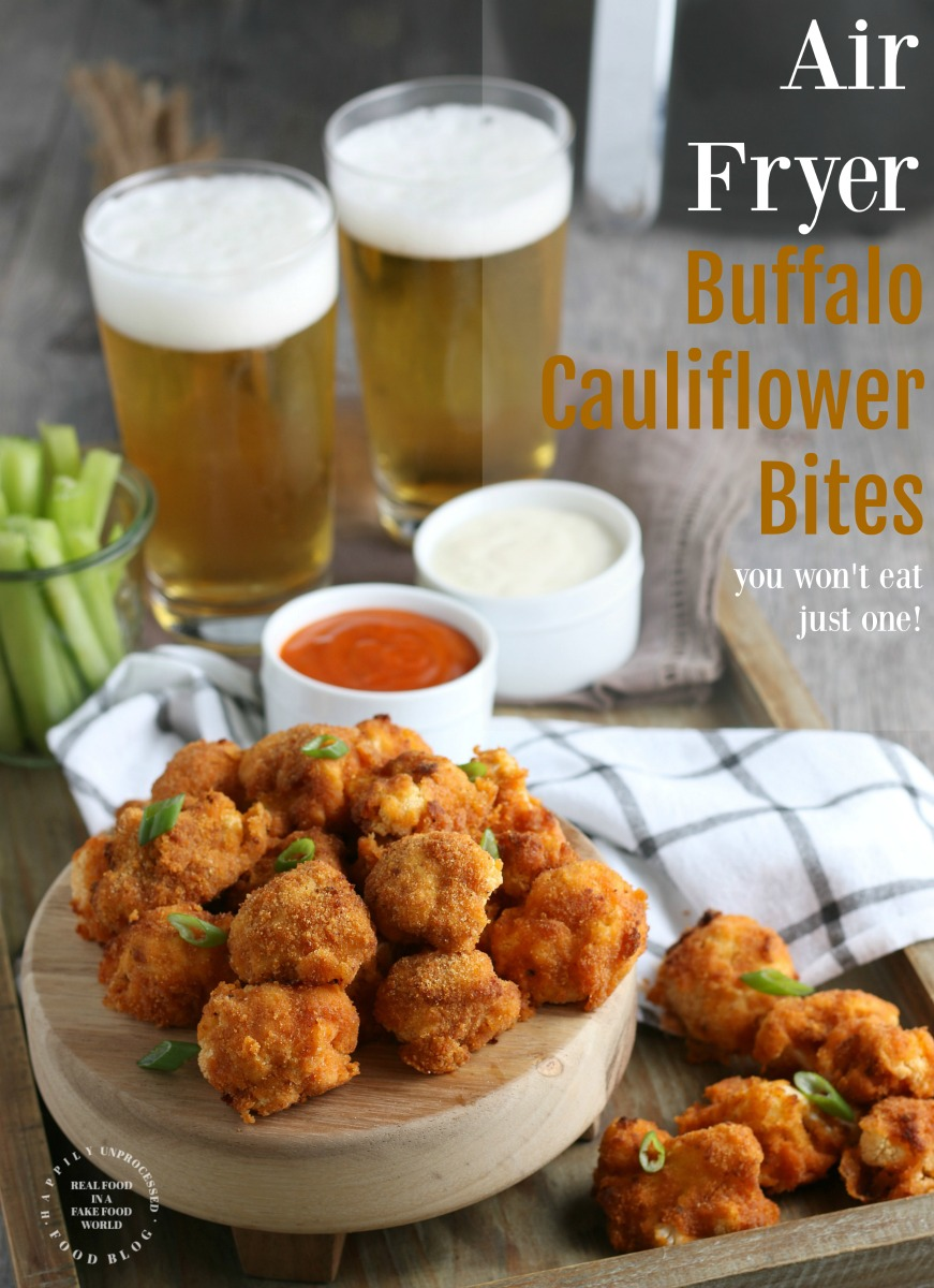 Air Fryer Buffalo Cauliflower Bites pin4.jpg - AirFryer Buffalo Cauliflower Bites