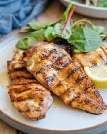Best Grilled chicken marinade feature 360x450 - Best Grilled Chicken Marinade