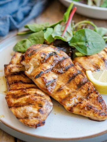 Best Grilled chicken marinade feature 360x480 - Best Grilled Chicken Marinade
