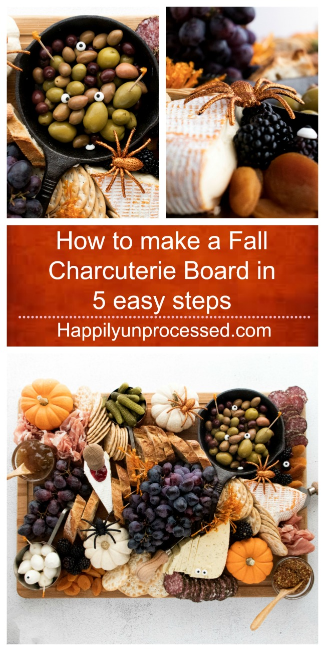 How to make a charcuterie board in 5 easy steps - How to make a Fall Charcuterie Board in 5 Easy Steps