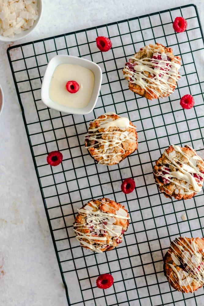 Keto Raspberry Muffins  - Keto Raspberry Muffins