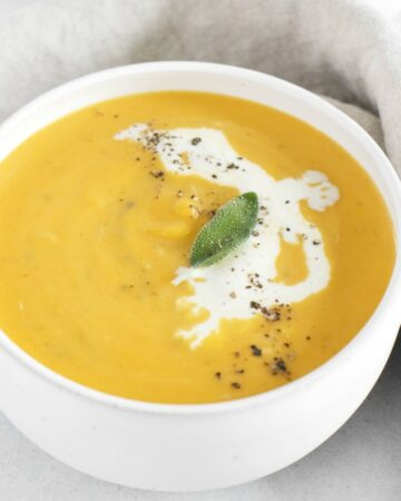 Instant Pot Butternut Squash soup - so creamy, velvety and done in half the time