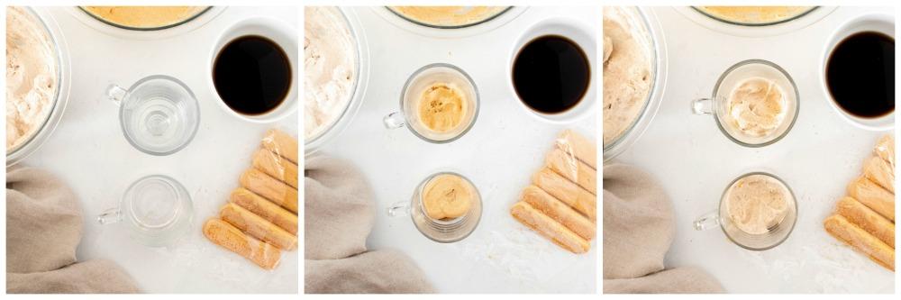 How to make a pumpkin tiramisu layer by layer - Pumpkin Tiramisu (single serving)