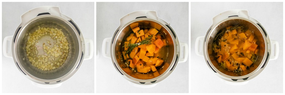 How to make butternut squash soup in the instant pot - Instant Pot Butternut Squash Soup