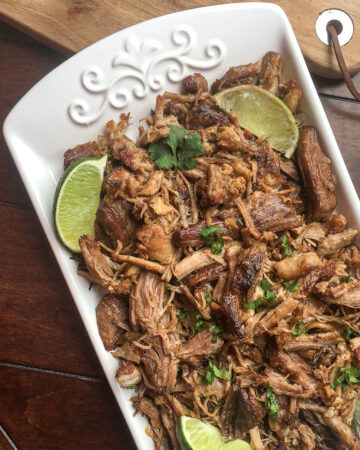 How to make the most delicious moist pork carnitas in the Instant Pot