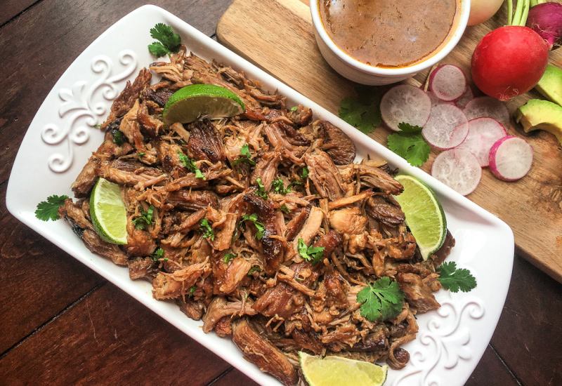 How to make Mexican pulled pork Carnitas in the Instant Pot - Instant Pot Carnitas