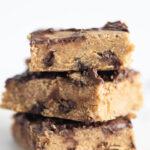 Chickpea Blondie Brownies low salt low sugar 150x150 - Flourless 6 Ingredient Almond Butter Brownies