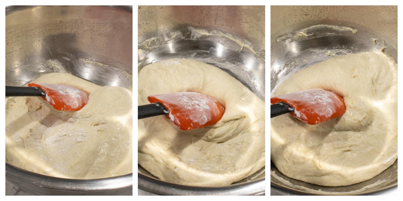 How to make Italian Ciabatta Bread Steps 14 15 16 - Homemade Italian Ciabatta Bread (with step by step instructions)