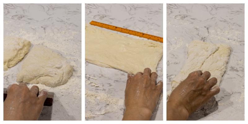 How to make Italian Ciabatta Bread Steps 21 22 23 - Homemade Italian Ciabatta Bread (with step by step instructions)