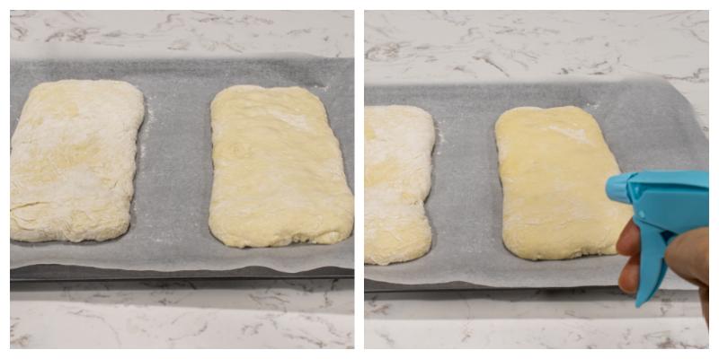 How to make Italian Ciabatta Bread Steps 24 25 - Homemade Italian Ciabatta Bread (with step by step instructions)