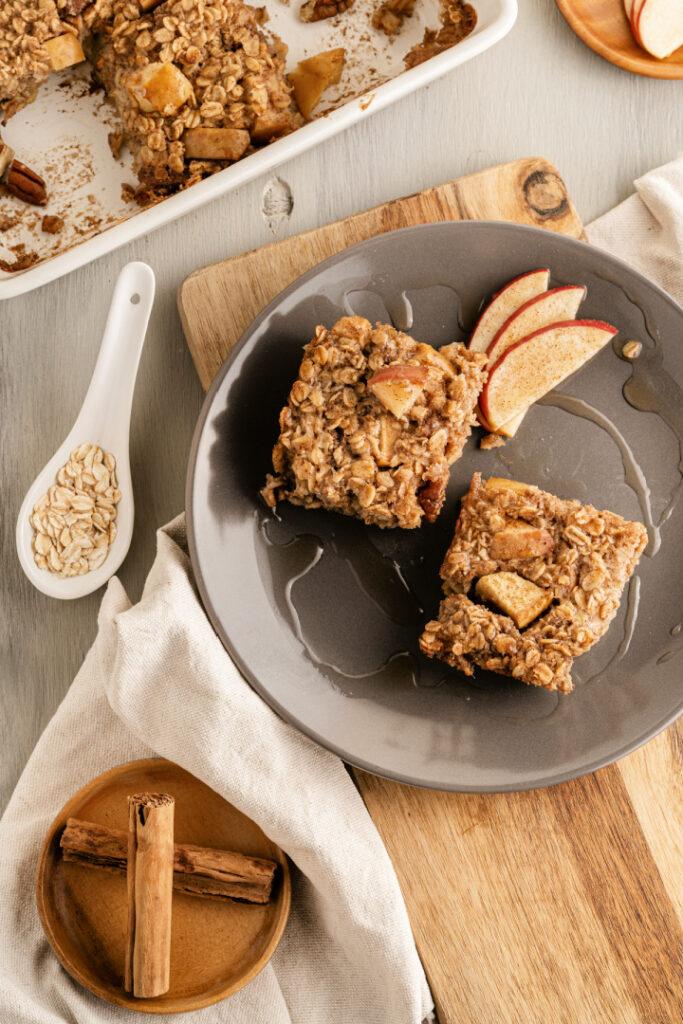 Baked Apple Oatmeal 683x1024 - Baked Apple Oatmeal