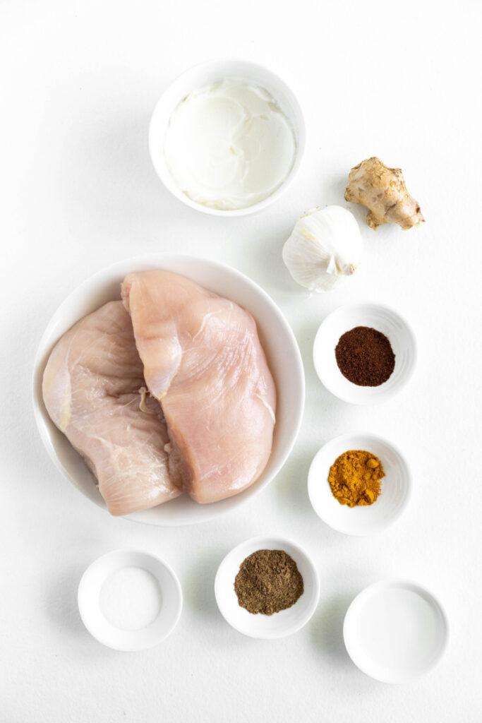 Indian Butter chicken ingredients 683x1024 - Indian Butter Chicken