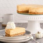 Pumpkin cheesecake recipe 150x150 - Pumpkin Cheesecake (no water bath required)