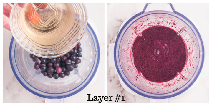 Triple Layer Blueberry Banana Smoothie Layer 1 720x360 - Triple-Layered Blueberry Banana Smoothie