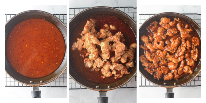 How to make Air Fryer Sesame Chicken in a tangy sweet sauce 720x360 - Air Fryer Sesame Chicken